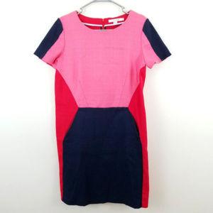 Boden Colorblock Sheath Dress